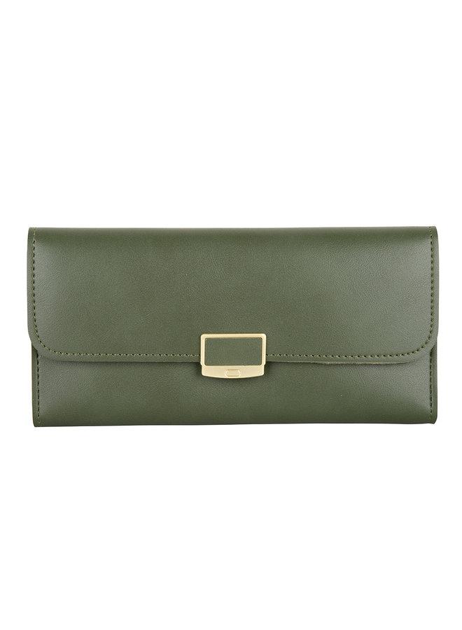 Klassische Brieftasche Iris - Grün