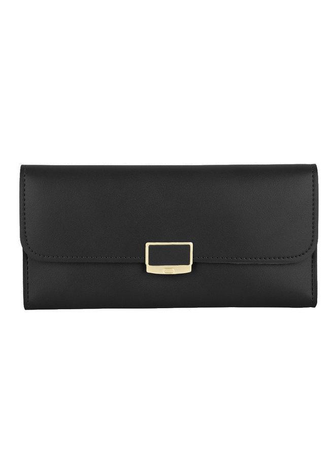 Klassische Brieftasche Iris - Schwarz -
