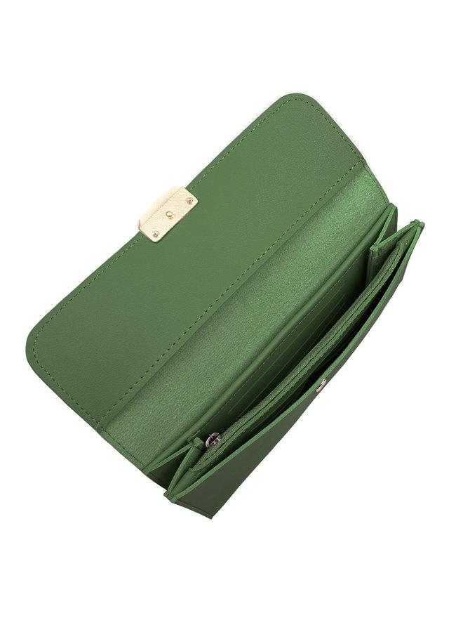 Jozemiek  Classic portemonnee Iris - Groen