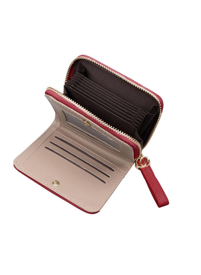 Jozemiek Compact Geldbörse Kimmy - Rot