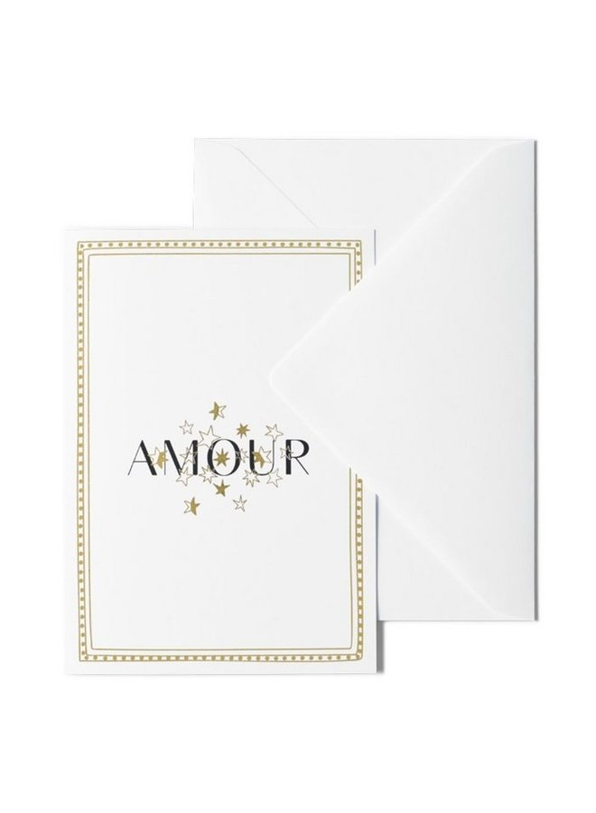 ME & MATS greeting card - Amour