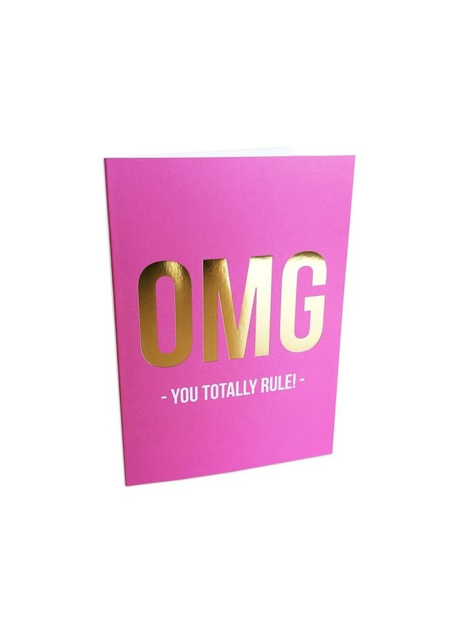 Studio Stationery greeting card -you rule