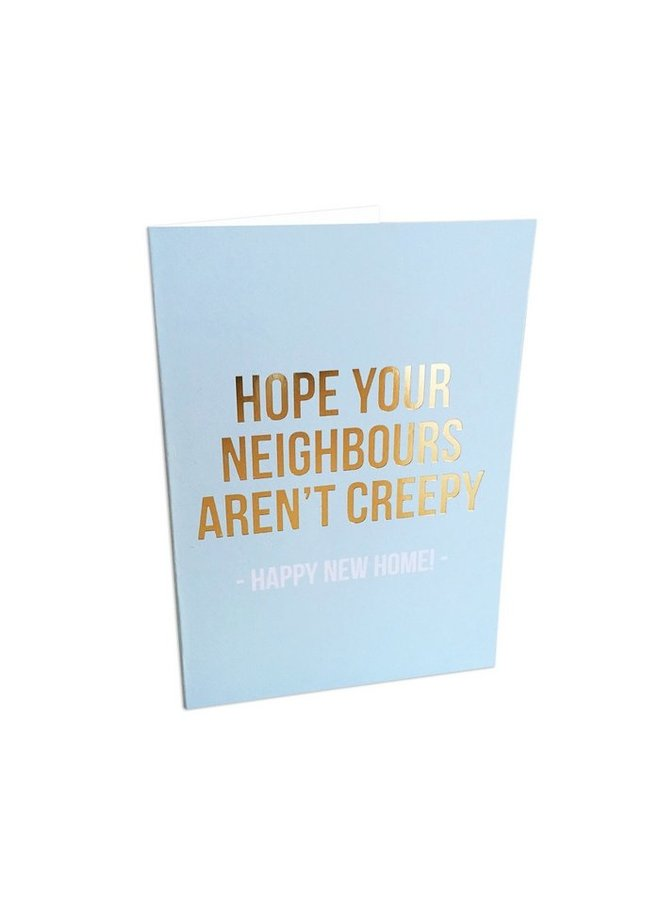 Studio Stationery greeting card - happy new home
