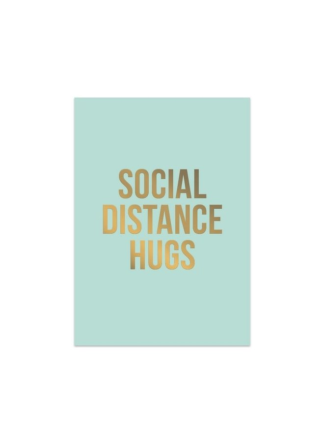 Studio Stationery greeting card - Social Distance Hugs