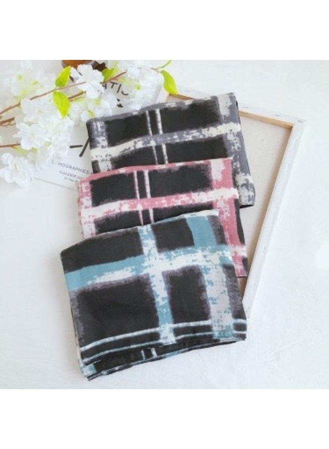 Sjaal dip dye - roze