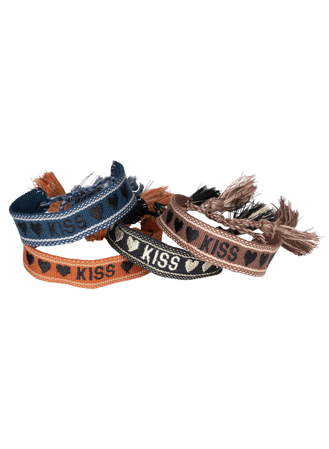 Bohemian quote armbandjes :  KISS