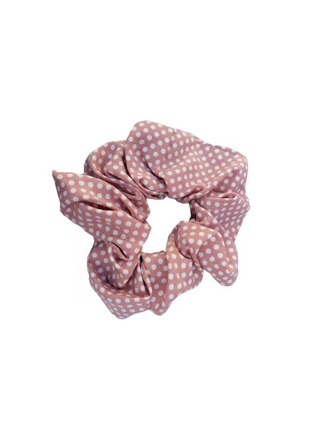 Jozemiek Scrunchie Dots pink