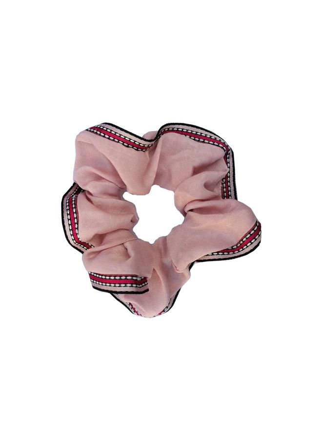 Scrunchie Lint Roze