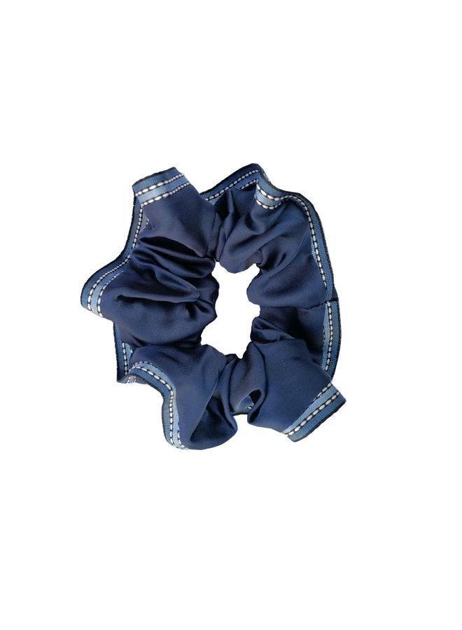 Scrunchie Band blau