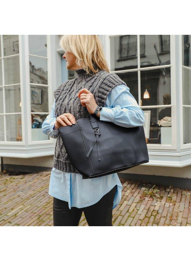 Jozemiek Shopper stylish - Schwarz