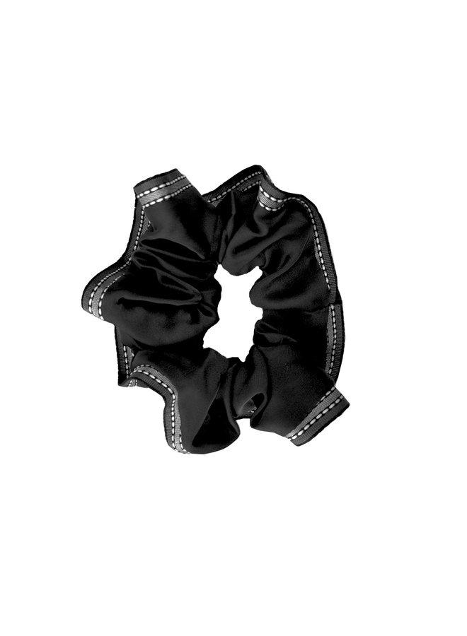 Scrunchie Ribbon Schwarz