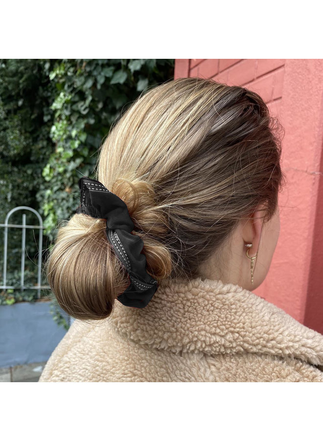 Jozemiek Scrunchie Ribbon Black