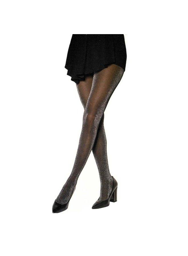 Panty Glitter Zwart