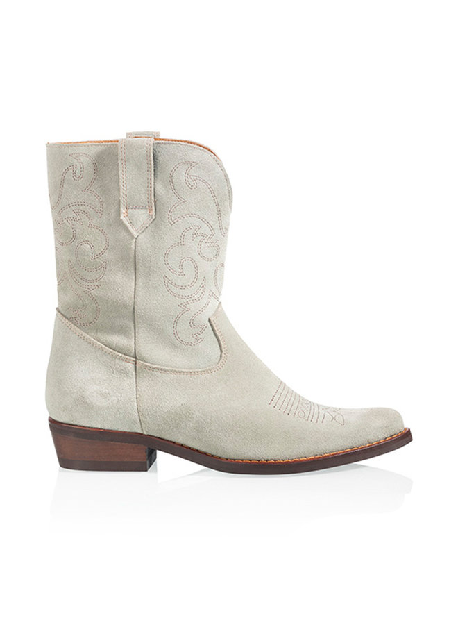 Boot TOSCANE suede- gray / mint