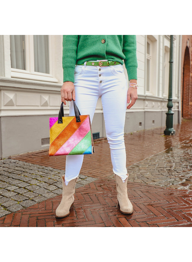 Jozemiek pants Elles - white