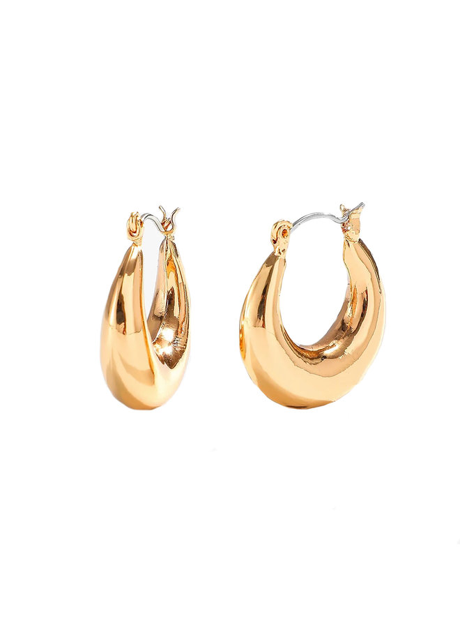 earring Coco round - hoops