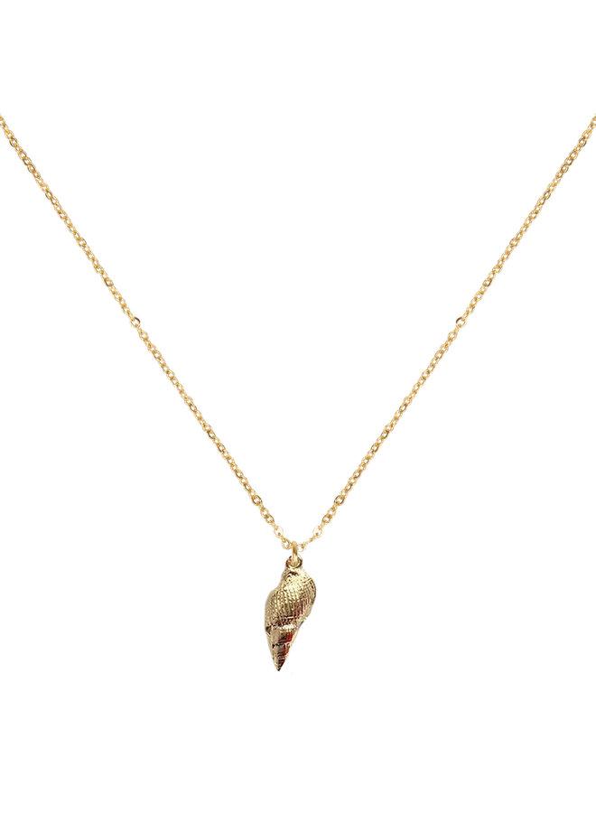 Jozemiek ocean jewelry grote schelp ketting