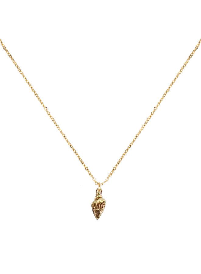 Jozemiek ocean jewelry kleine schelp ketting