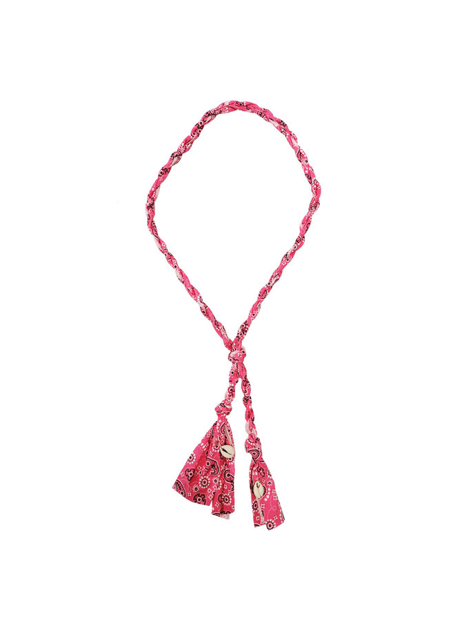 Bandana Halskette - pink