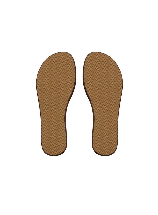 Black Flamingo Sandaal L'indispensable  Leren slipper gemaakt in Marokko