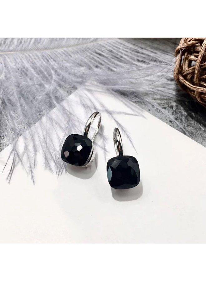 Jozemiek Stone Earring- black