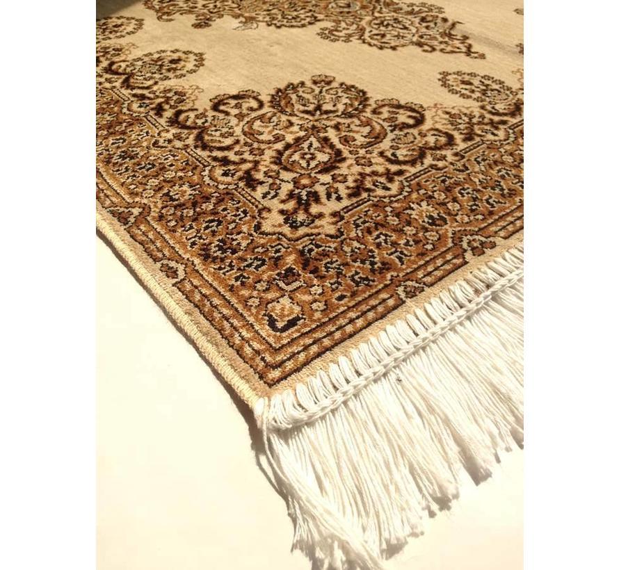Klassiek tapijt beige/bruin