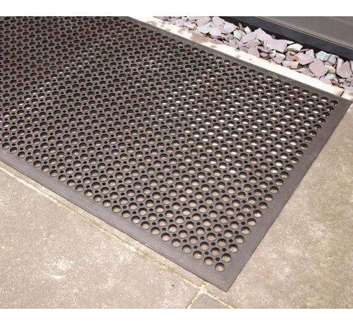 Genoeg Rubberen deurmat zwart | Onlinemattenshop XQ49