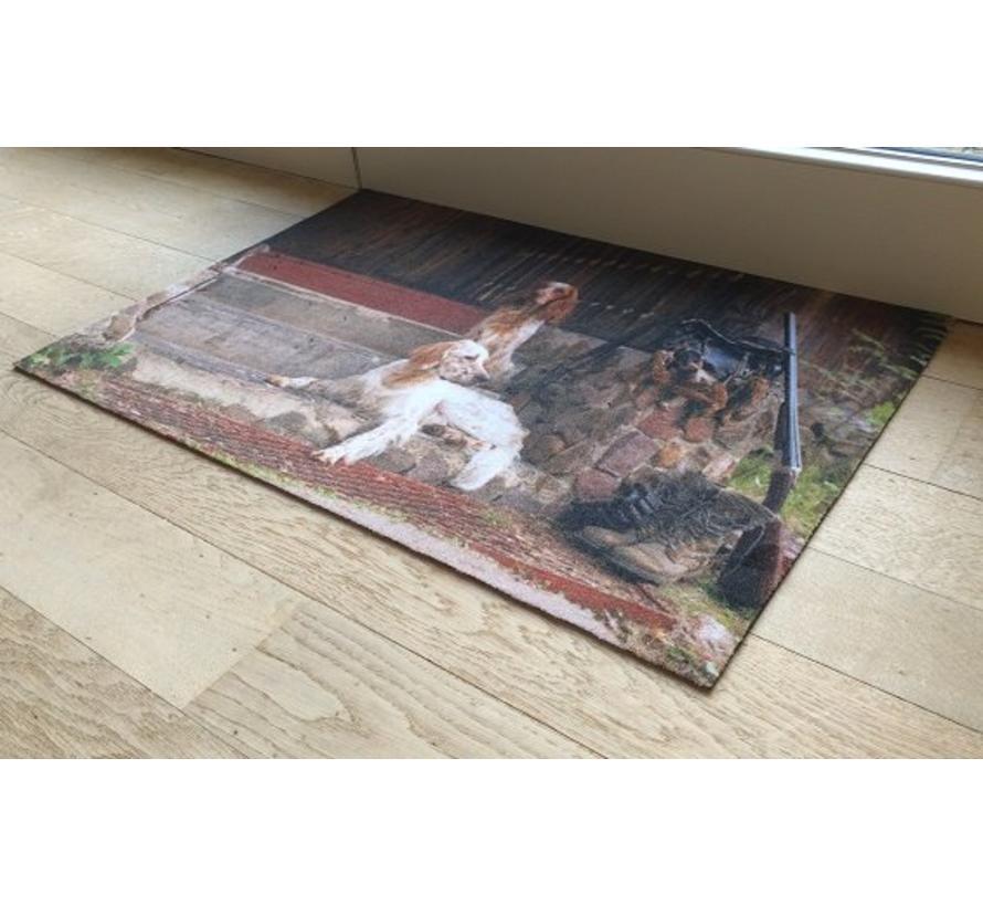 Deurmat foto jachthonden