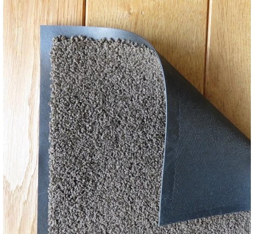 Ecologische droogloopmat bruin