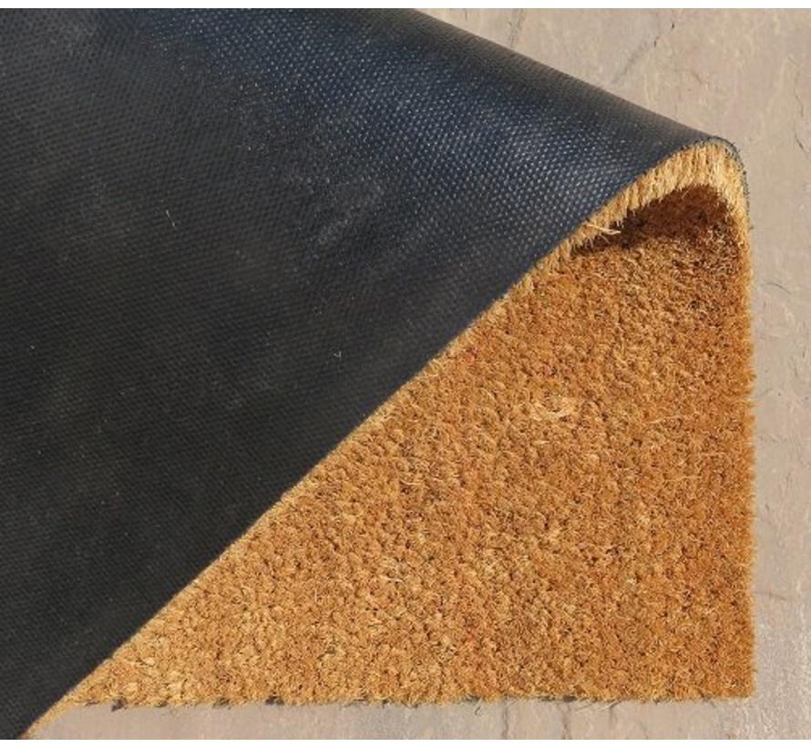 Tapis coco imprimé buxus