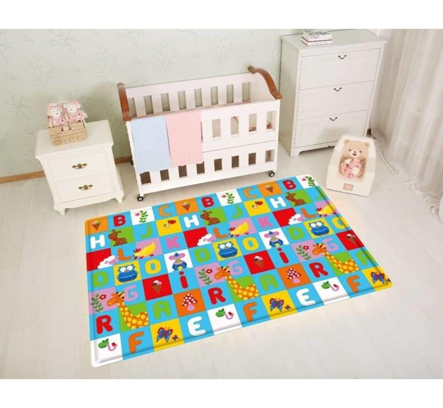 Tapis enfant anti allergique  ABC