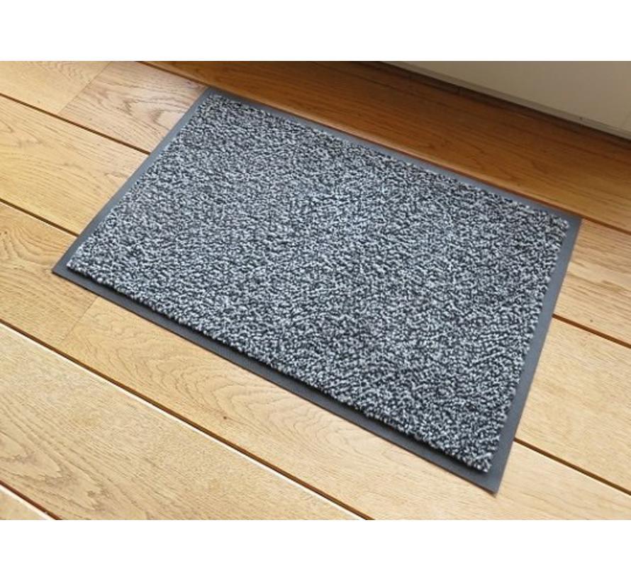 Paillasson anti poussière écologique, gris