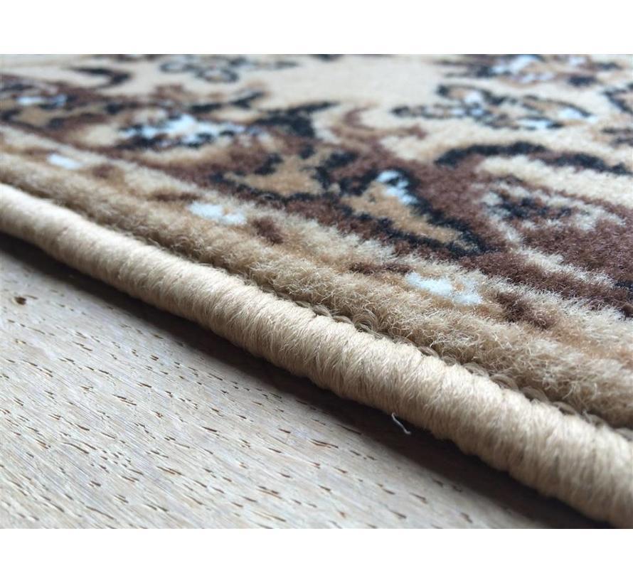 Tapis classique beige/brun