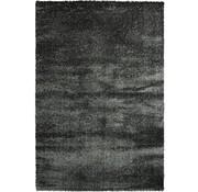 Tapis poil long anthracite