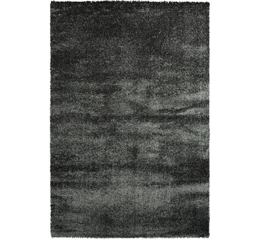 Tapis poil long anthracite, 40 mm