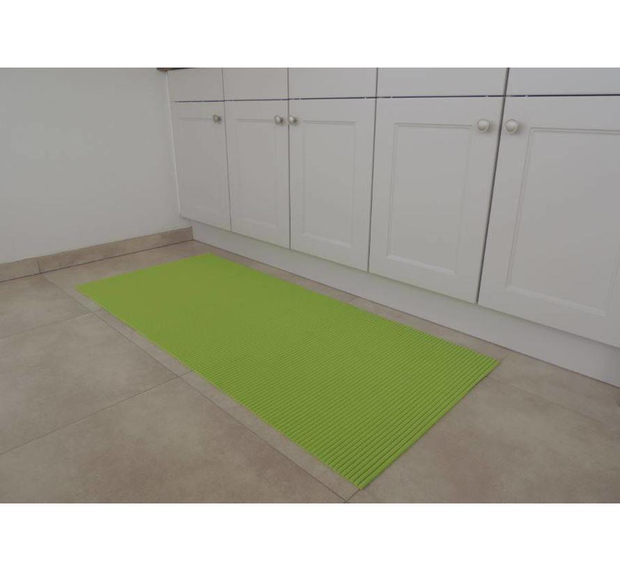 Tapis antidérapants sur mesure, vert