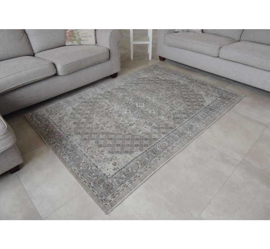 Oosters tapijt grijs