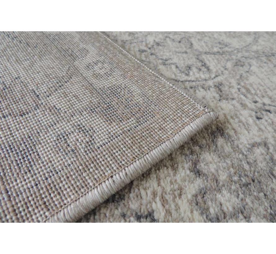 Klassiek tapijt crèmekleur