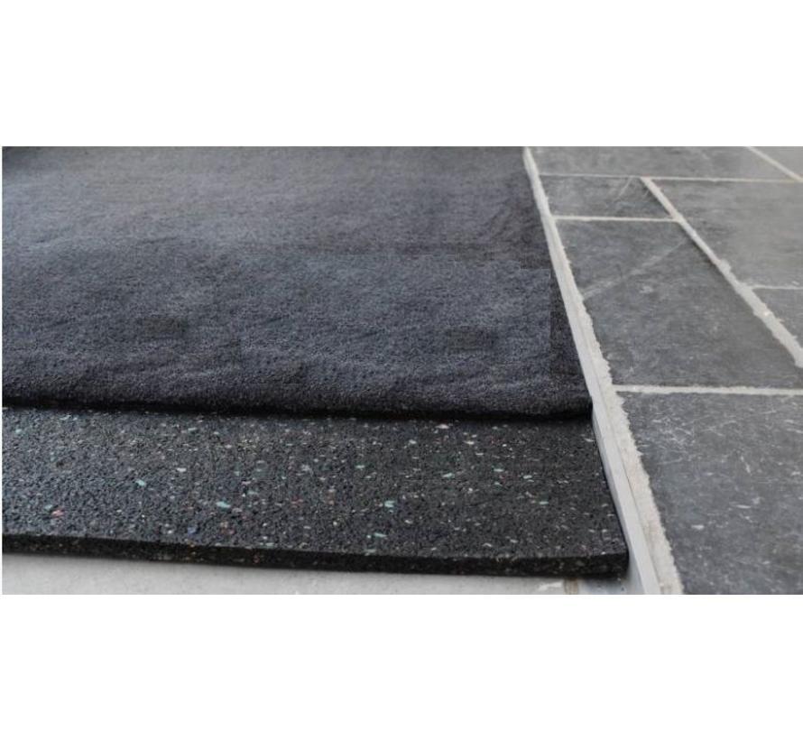 Sous-tapis en caoutchouc granulé sur mesure, 4mm
