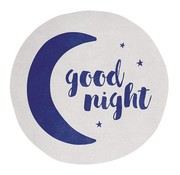"Kindertapijt rond ""good night"""