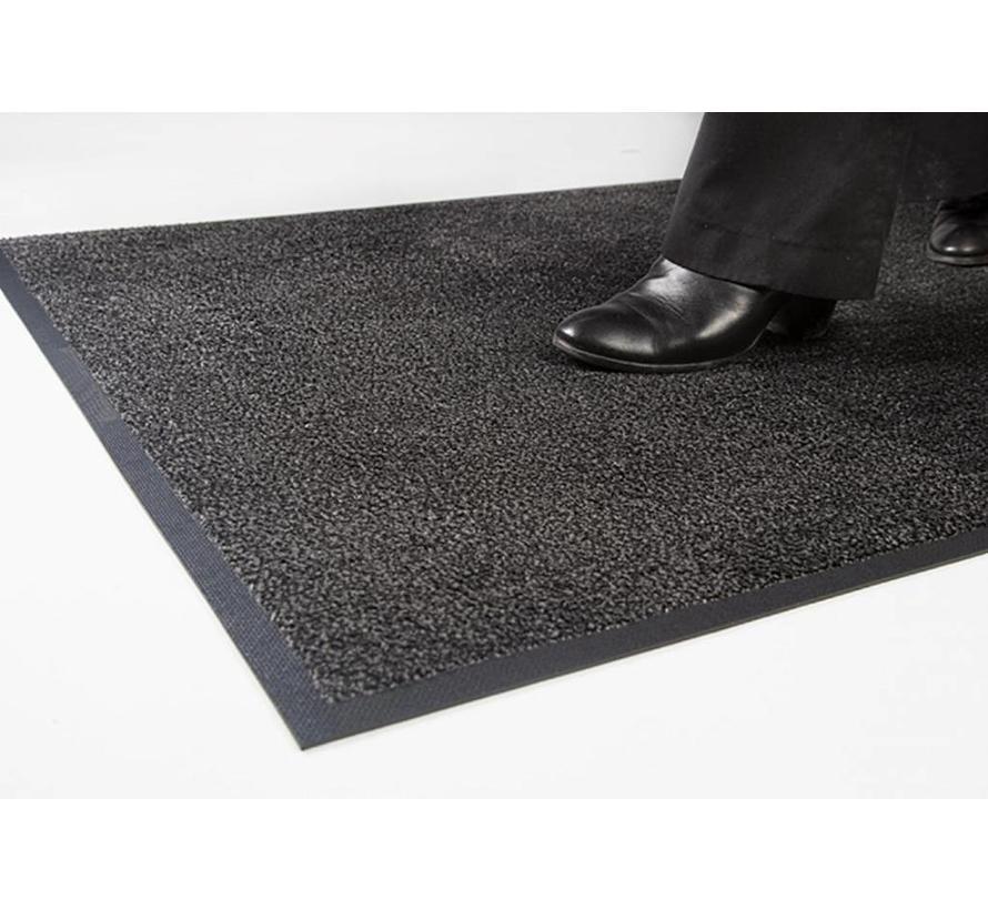 Tapis anti poussière professionel en nylon noir/vison