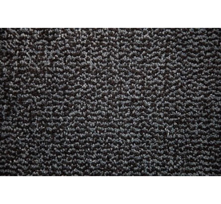 Paillasson antipoussière professionel en nylon/microlux bleu