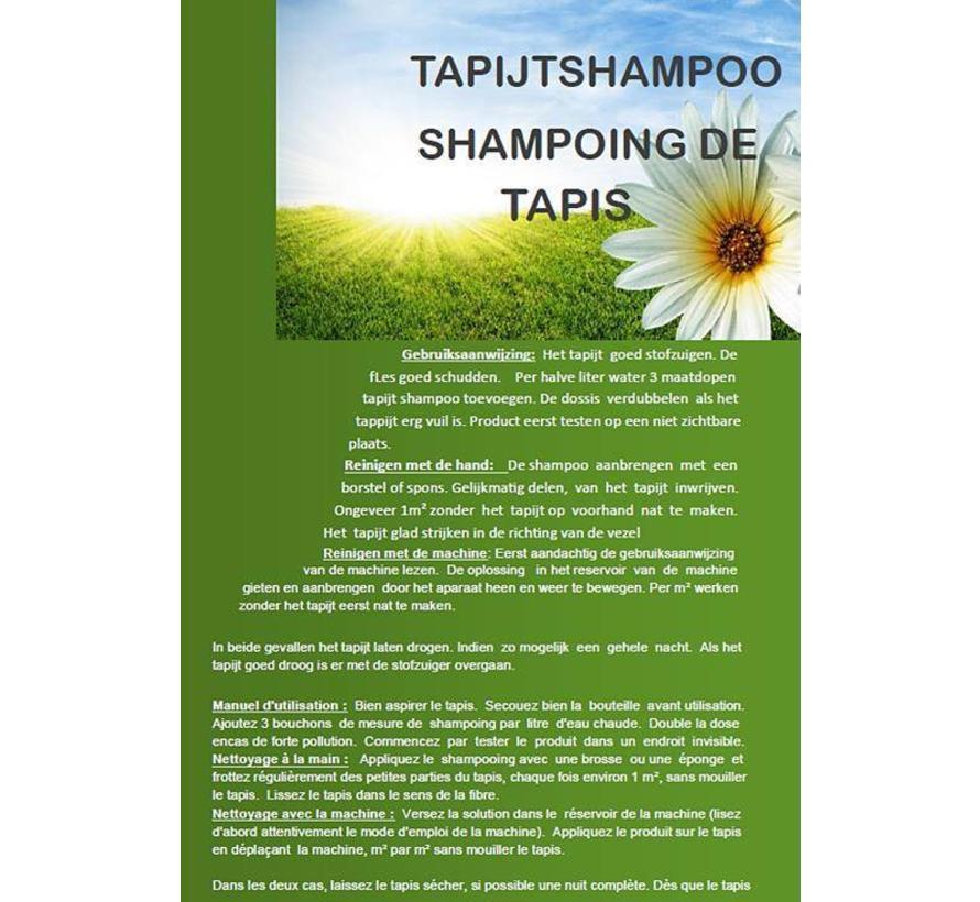 Shampoing pour tapis