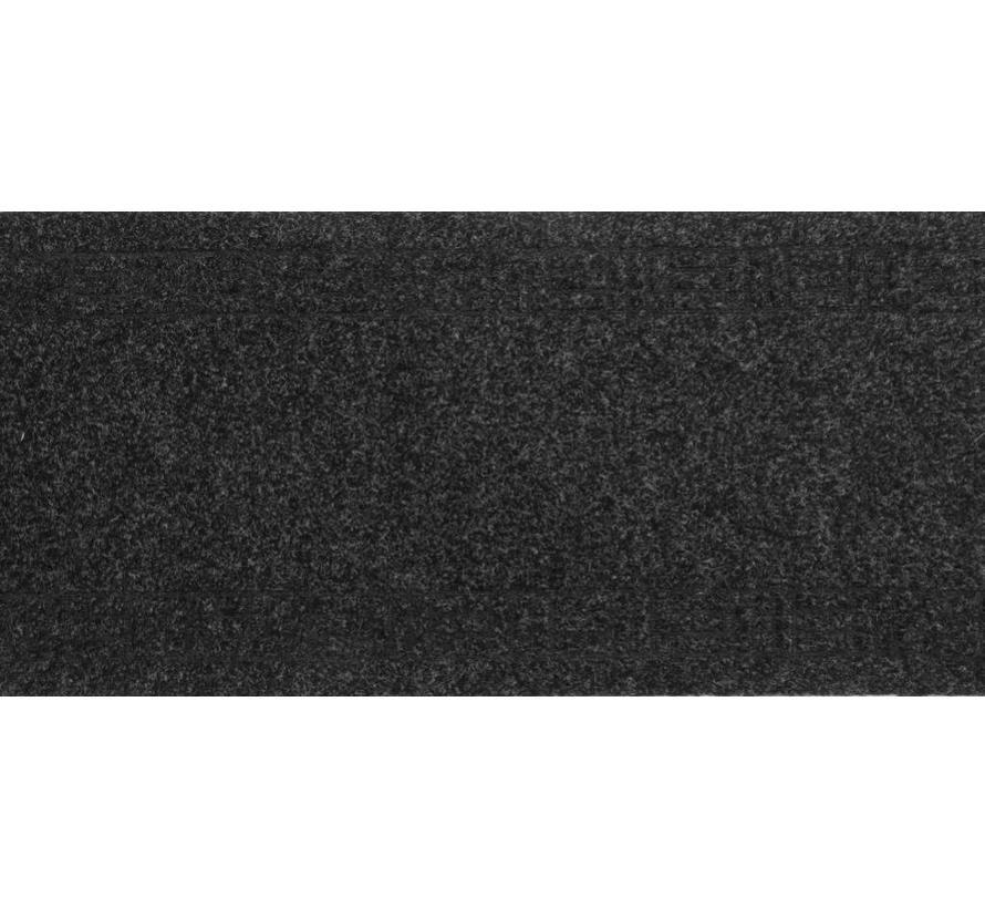 Tapis de couloir anthracite sur mesure, 50cm largeur