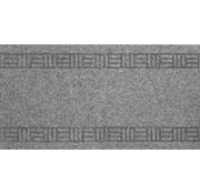 Tapis de couloir gris sur mesure, 50cm largeur