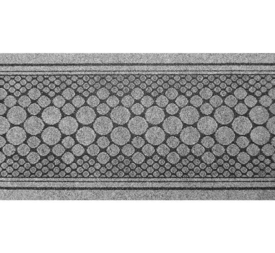 Tapis de cuisine sur mesure gris, 67 cm largeur