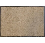 Tapis antipoussière taupe