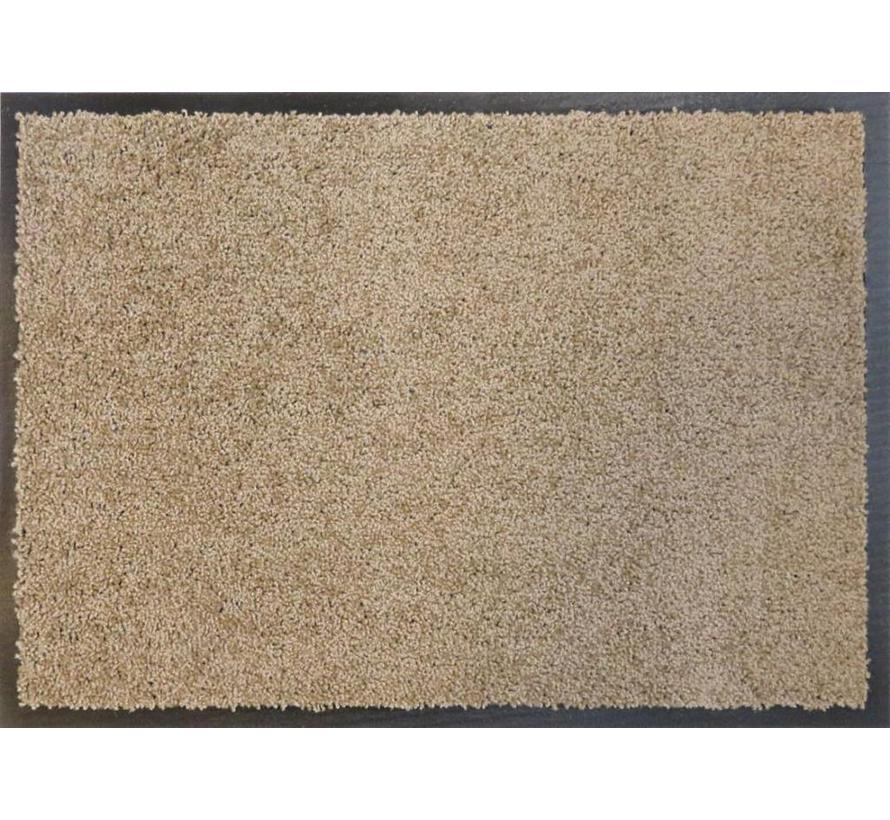Tapis antipoussière taupe, super absorbant