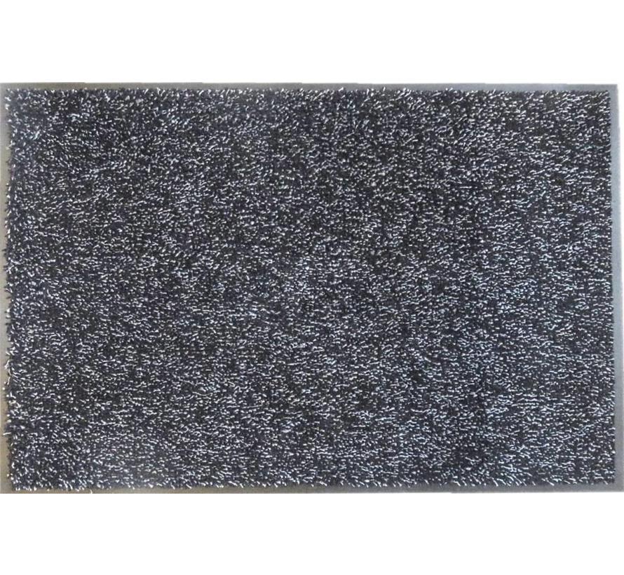 Deurmat katoen grijs ecologisch
