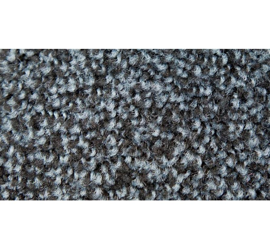 Paillasson antipoussière professionel en nylon gris ardoises